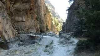 Samaria Schlucht Kreta 2015