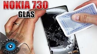 Nokia Lumia 730 GLAS Wechseln Tauschen Reparieren [Deutsch/German]