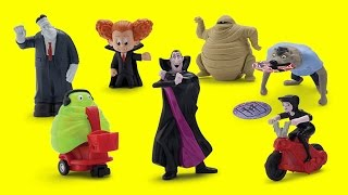 2015 Hotel Transylvania 2 Movie McDonald's Happy Meal Full set of 7 toys