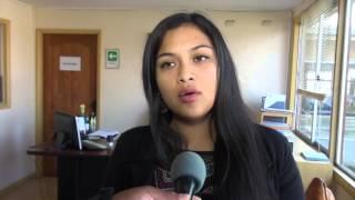CANDIDATAS A REINA SAAVEDRA 2016 DESAYUNO CON ALCALDE - NOTA CANAL 8