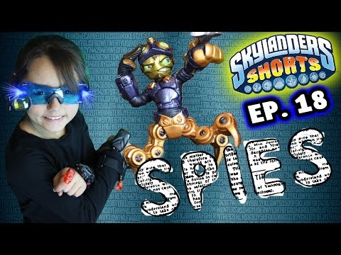 Skylanders Shorts: Episode 18 - The Spy Who Saved Me (Spylanders)