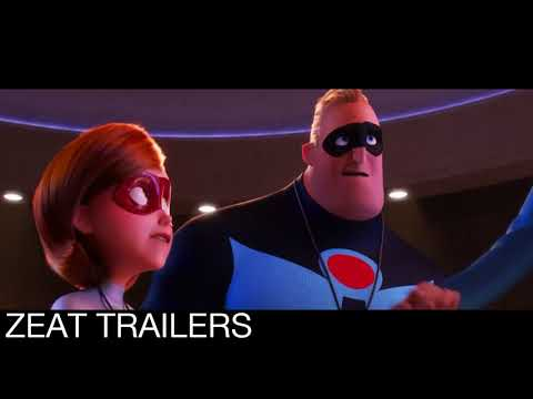 INCREDIBLES 2 (2018) HD OFFICIAL TRAILER