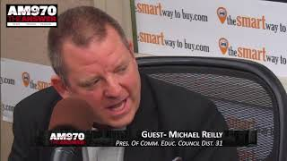 Michael Reilly - Interview - Piscopo In The Morning 2-20-18 AM 970 The Answer