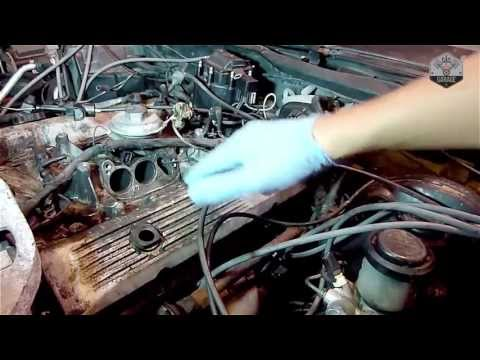 How To Remove Corvette C4 Valve Covers - Driver side