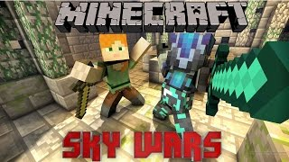 Minecraft SkyWars Part 2 I THE MOST EPIC SKYWARS EVER (Fails and Wins)
