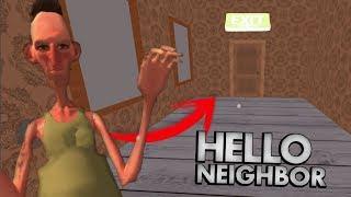 LOS SECRETOS DEL HERMANO DEL VECINO !! OMG | HELLO NEIGHBOR (Alpha oculta) - Angry Neighbor app