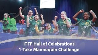Who Owned the ITTF Hall of Celebrations Mannequin Challenge??