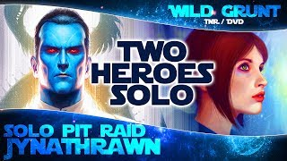 2 HEROES SOLO: Grand Admiral Thrawn and Jyn Erso - Solo Heroic Pit Raid | Star Wars Galaxy of Heroes
