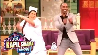 Dwayne Bravo (DJ Bravo) Champion Dance On The Kapil Sharma Show!