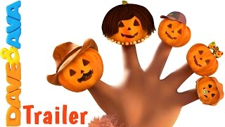 Halloween Finger Family Song - Trailer | Halloween Songs from Dave and Ava