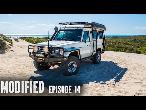 Landcruiser Troopy Camper, modified Episode 14