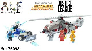 Lego Super Heroes 76098 Speed Force Freeze Pursuit - Lego Speed Build Review