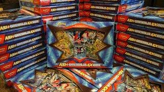 Pokemon Opening: 50 Ash-Greninja EX boxes
