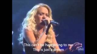 Carrie Underwood - Just a Dream with Lyrics
