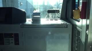 E233系りんかい線大崎行き コミケ終了後の国際展示場駅に入線