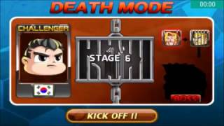 Head Soccer Challenge - Death Mode with South Korea Stages (1-10 Part) 6#