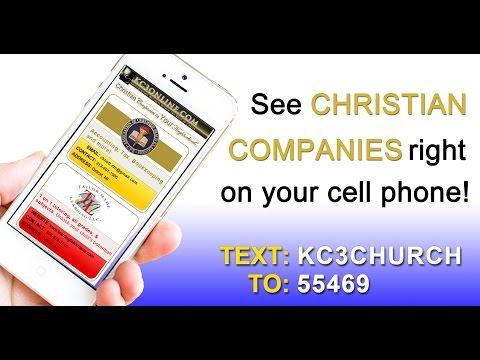 KC3 Christian Companies Text Blast
