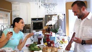 Heghineh Family Vlog #45 - Հաց ու Պանիր - Heghineh Cooking Show