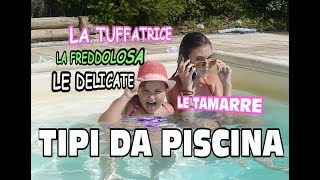 Tipi di persone in Piscina  #1 ( type of people at the pool ) | Marghe Giulia Kawaii