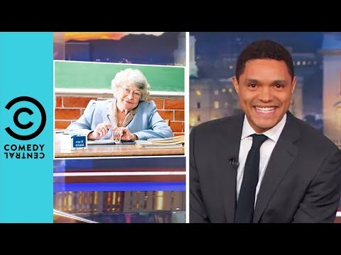 Donald Trump Wants Teachers To Be Locked And Loaded The Daily Show With Trevor Noah