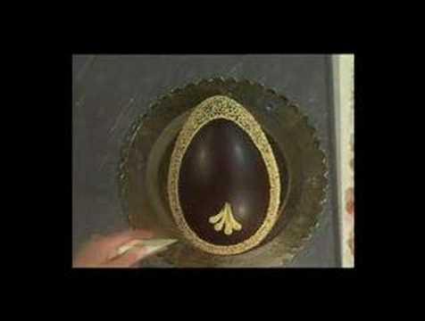 Decorazioni Uovo di pasqua con fiori CD10