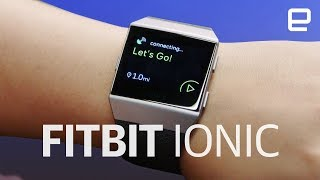 FitBit Ionic hands-on at IFA 2017