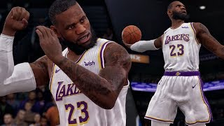 LEBRON JAMES SCORES 44 POINTS & EXPOSES QJB! NBA Live 19 Career Gameplay Ep. 3