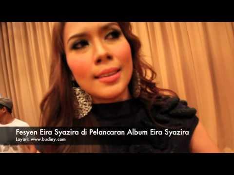 Fesyen Eira Syazira di Pelancaran Album Eira Syazira