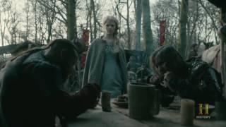 Vikings: Halfdan Kills Finehair's Queen who Promised To Marry Him [Season 4 Episode19]
