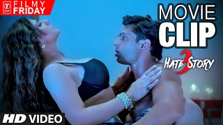 HATE STORY 3 Movie CLIPS 6 -  Zareen Khan & Karan Singh Grover Love Making Scene