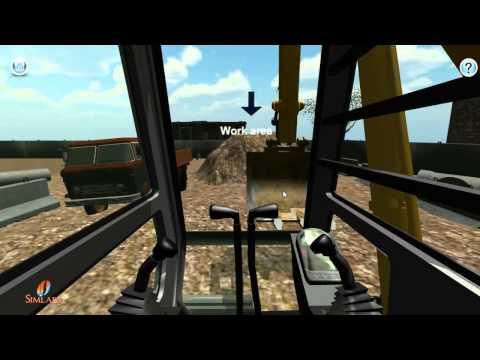 Excavator Operator Training Demo Video
