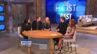 Saoirse Ronan, Stephenie Meyer, Jake Abel & Max Irons - Anderson Live (28/03/2013) HD