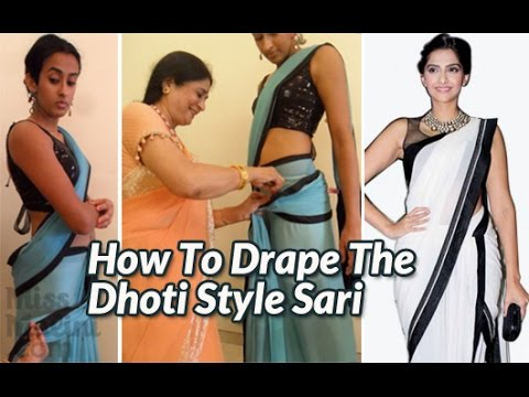 Xxx Mp4 How To Drape The Dhoti Style Sari 3gp Sex