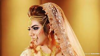 Tradition Pakistani Bridal Makeup Transformation - Asian Bridal