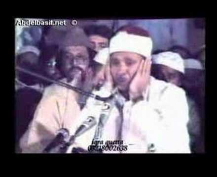 Abdulbasit Abdussamed Tahrim Hakkah Pakistan Full Part 2
