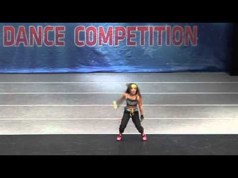 8 year old girl hip hop/b-girl dancing