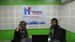 Ramu Khadka With Priy Milan On Lok Bazaar@ Himalaya Fm Network