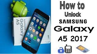 SAMSUNG GALAXY UNLOCKING A3   A5   A7   A8   A9