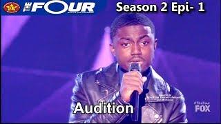 "Quinton Ellis 17 years old sings ""U Got it Bad"" AMAZING Full Audition The Four Season 2"