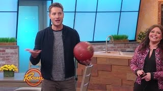 Watch Justin Hartley Play Hoops and Perform Dares