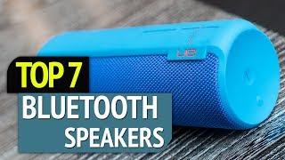 TOP 7: Best Bluetooth Speakers 2019