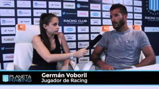 Planeta Racing TV: Entrevista a Germán Voboril.