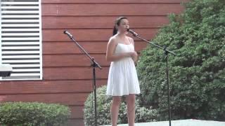 Maddie Hunt age 11 singing