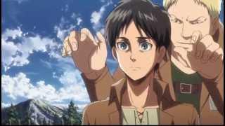 Annie vs Eren Training Scene [English Dub]