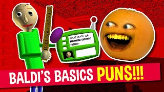 Baldi's Basics PUNS and JOKES! | Annoying Orange