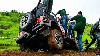 2015 Mahindra Thar Facelift off-road drive