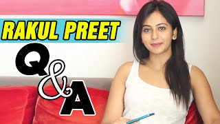 Rakul Preet Q & A with her Facebook Fans - Exclusive Interview