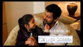 An Interview With Actor Vikram & Baby Sara