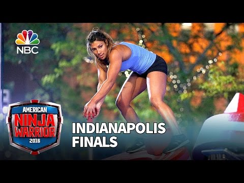 Meagan Martin at the Indianapolis Finals American Ninja Warrior 2016