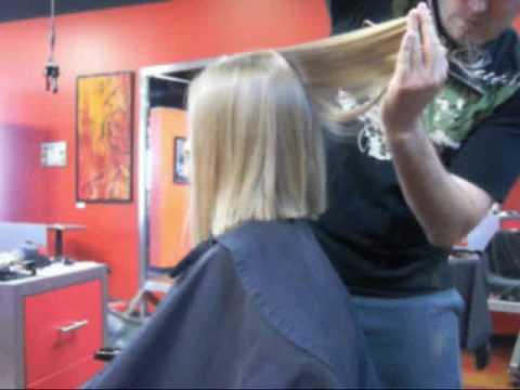 Amy s super long hair chop SOLD on OnlineHairAffair